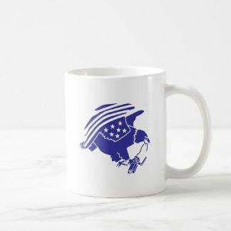 Anti-Surveillance Eagle (solid style) Classic White Coffee Mug