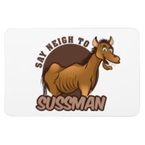 Anti Sussman Car Magnet