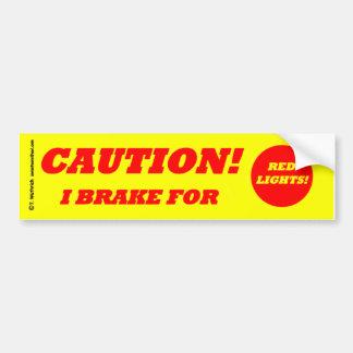Anti Tailgating Defensive Safe Driving Bumper Sticker