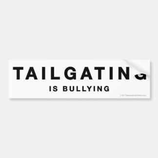 Anti-Tailgating sticker Car Bumper Sticker