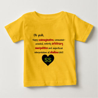 Anti-Tarjeta del día de San Valentín del Tee Shirt