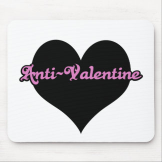Anti-Tarjeta del día de San Valentín Mousepads