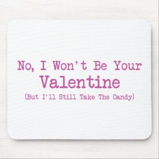 Anti-Tarjeta del día de San Valentín Tapetes De Raton