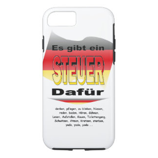 Anti-Tax (Germany) iPhone 8/7 Case