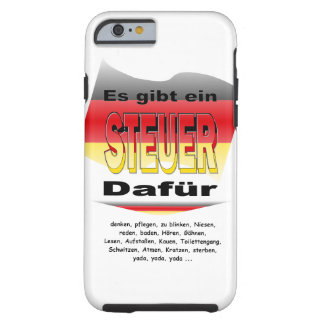 Anti-Tax (Germany) Tough iPhone 6 Case