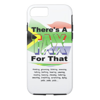 Anti-Tax (South Africa) iPhone 7 Case