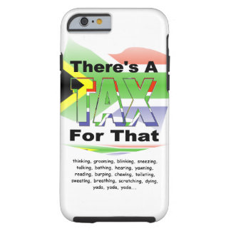 Anti-Tax (South Africa) Tough iPhone 6 Case