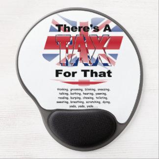 Anti-Tax (UK-England) Gel Mouse Pad