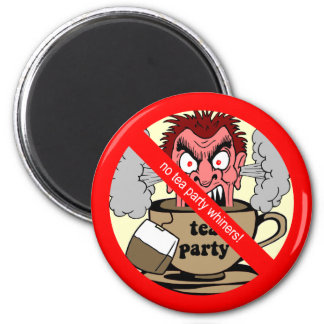 Anti tea party 2 inch round magnet