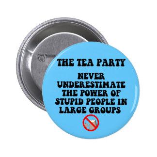 Anti tea party pin