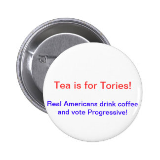 Anti Tea Party Button