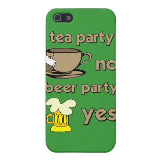 anti tea party cover for iPhone 5