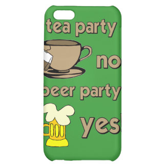 anti tea party cover for iPhone 5C