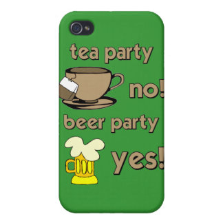 anti tea party covers for iPhone 4