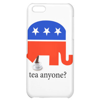 Anti Tea-Party Elephant Poop in Tea Cup iPhone 5C Cover