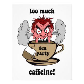 Anti tea party custom flyer