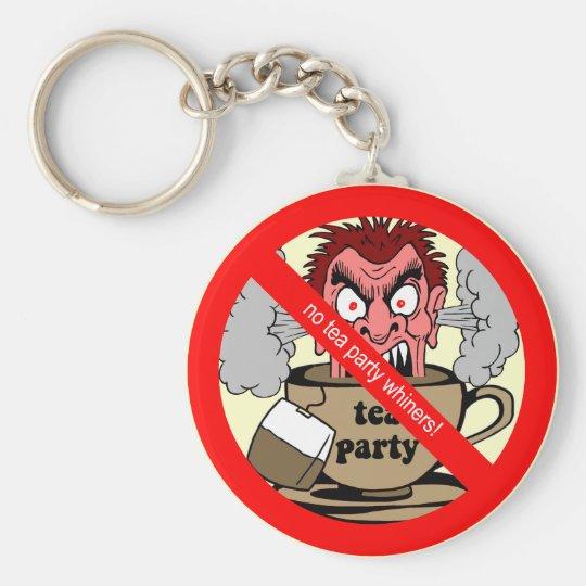 Anti tea party keychain