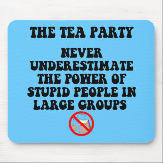 Anti tea party mouse pad