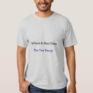 Anti-Tea Party, Political, Democratic Shirt