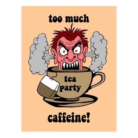 Anti tea party postcard