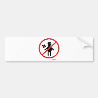 Anti teabagger car bumper sticker