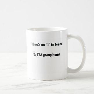 Anti-teamwork office mug