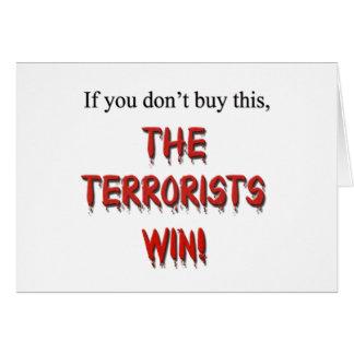 Anti-Terrorism! Card