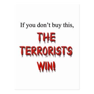 Anti-Terrorism! Postcard