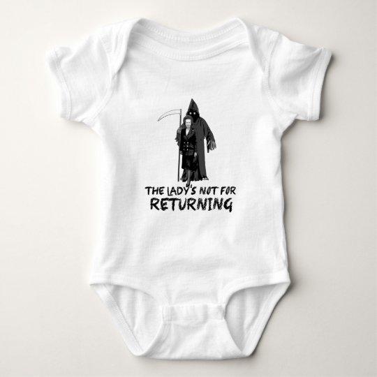 Anti Thatcher Baby Bodysuit