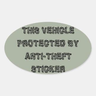 Anti-theft sticker