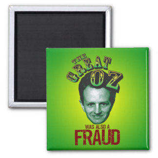 Anti Tim Geithner 2 Inch Square Magnet