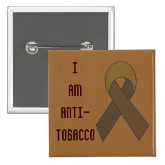 anti-tobacco ribbon pin