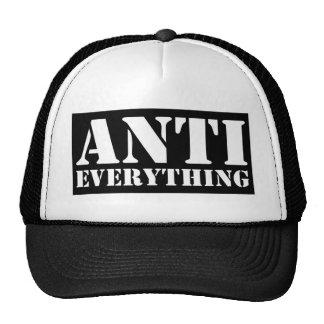 Anti todo gorras de camionero