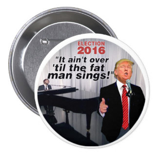 Anti-Trump 2016 Election Pinback Button