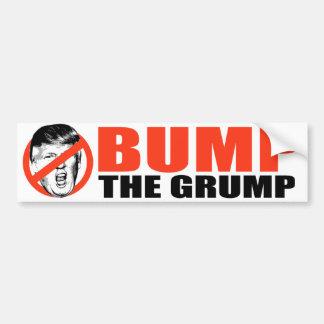 ANTI-TRUMP - Bump the Grump -.png Bumper Sticker