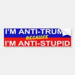 Anti-Trump Bumper Sticker