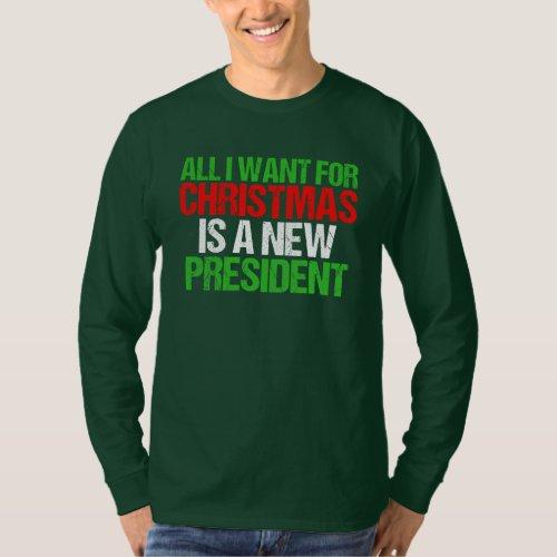 Anti Trump Christmas T_Shirt
