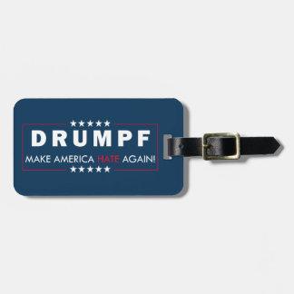 Anti-Trump Luggage Tag