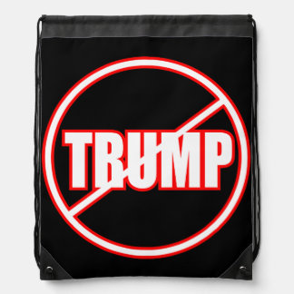 Anti Trump No Trump Custom Donald Trump Backpack