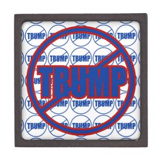 Anti Trump No Trump Custom Donald Trump Jewelry Box