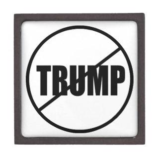 Anti Trump No Trump Custom Donald Trump Keepsake Box