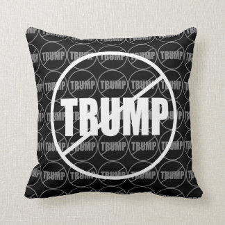 Anti Trump No Trump Custom Donald Trump Pillow