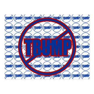 Anti Trump No Trump Custom Donald Trump Postcard