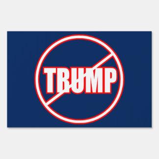 Anti Trump No Trump Custom Donald Trump Yard Sign