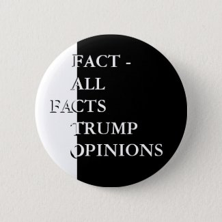Anti-Trump Political Election Voting Fact Buttons