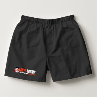 ANTI-TRUMP - Save America from Trumpocracy - .png Boxers