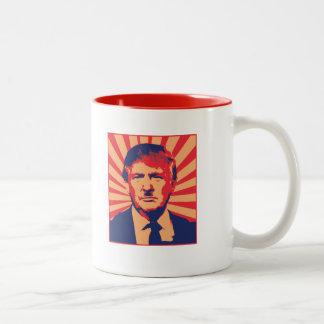 Anti-Trump Two-Tone Coffee Mug