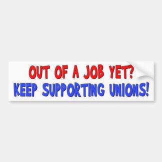 Anti-Unión Pegatina Para Auto
