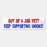 Anti-Union Car Bumper Sticker