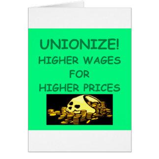 anti union card